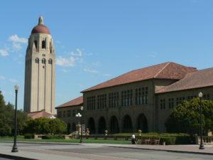 Stanford University mit Lieblingsbuchladen